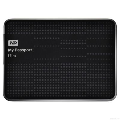 "Внешний жесткий диск Western Digital HDD USB3 1000GB My Passport Ultra Black 2,5"" WDBJNZ0010BBK-EEUE"