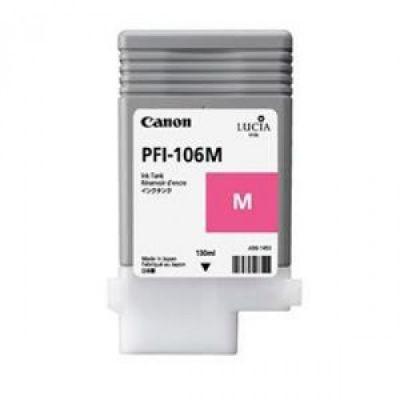 Картридж Canon PFI-106M Magenta/Пурпурный (6623B001)