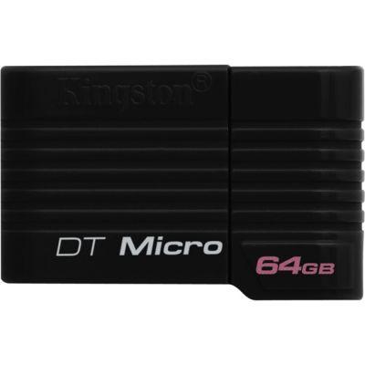 Флешка Kingston DataTraveler Micro 64GB Micro DTMCK/64GB