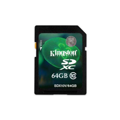 ����� ������ Kingston SDX10V/64GB