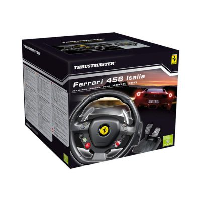 Thrustmaster Ferrari 458 Italia wheel PC/Xbox 360 (4460094)