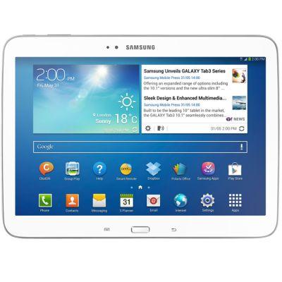 ������� Samsung Galaxy Tab 3 10.1 P5200 16Gb 3G (White) GT-P5200ZWAMGF