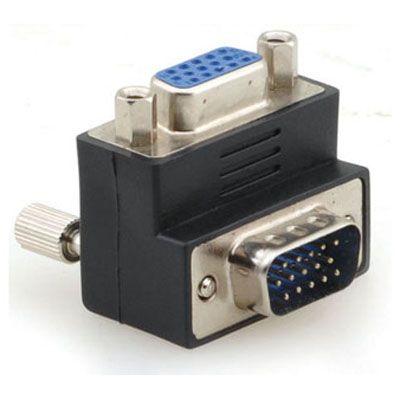 Переходник Kramer AD-GM/GF/RA VGA (HD15) вилка-розетка (угловой)