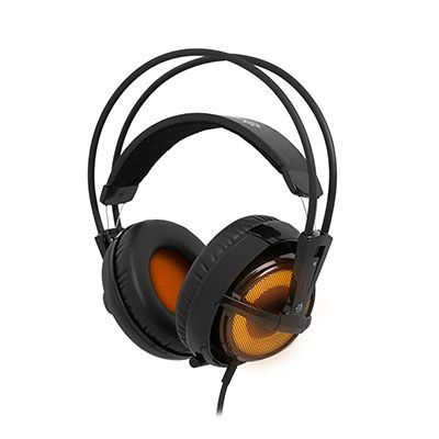 Наушники с микрофоном SteelSeries Siberia v2 Heat Orange (51141)
