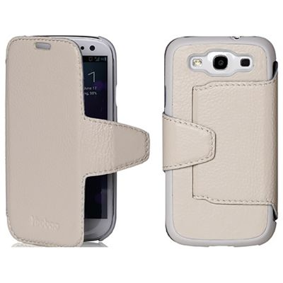 Чехол Yoobao Executive Leather Case for Samsung Galaxy S3 White