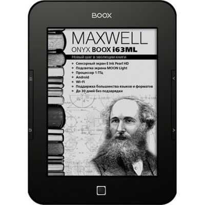 Электронная книга Onyx Boox i63ML Maxwell Black