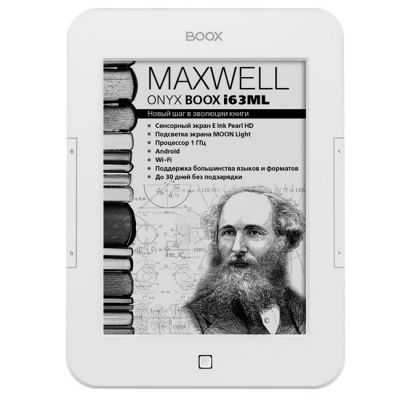 Электронная книга Onyx Boox i63ML Maxwell White