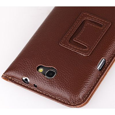 Чехол Yoobao Executive Leather Case for Samsung Note2(N7100) Brown