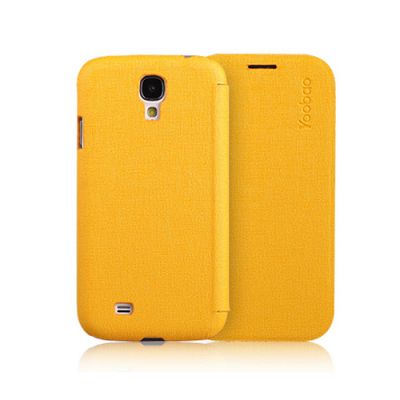 ����� Yoobao Slim Leather Case for Galaxy S4 ( i9500) Yellow