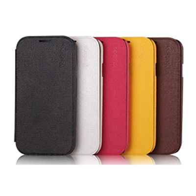 ����� Yoobao Slim Leather Case for Galaxy S4 ( i9500) White