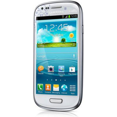 Смартфон Samsung Galaxy S III mini GT-I8190 White La Fleur GT-I8190ZWZSER