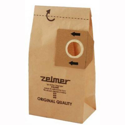 Zelmer Бумажные мешки для пылесосов серии 619, 616 (5 шт.) A6190380.00