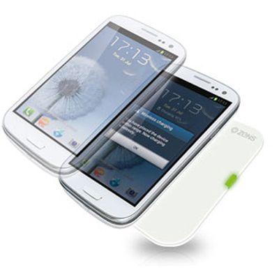 Адаптер питания ZENS Kit Single Charge с задней крышкой телефона Samsung Galaxy S III I9300 ZEDC01B/00