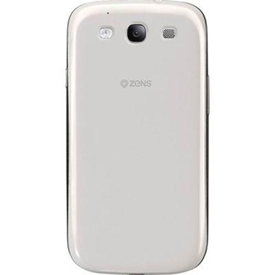 ������� ������� ZENS ��� Samsung Galaxy S III I9300 Battery Cover White � �������� ������������ ������� ZEBDS3W/00