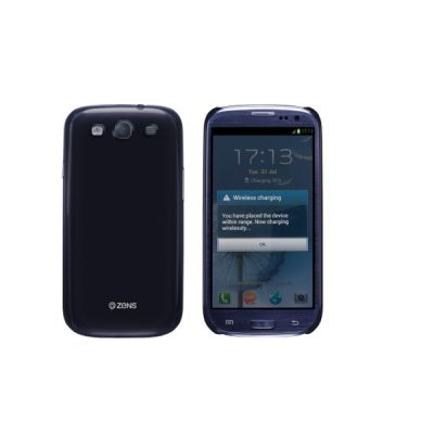 ������� ������� ZENS ��� Samsung Galaxy S3 Charging Shield Bluee � �������� ������������ ������� ZESHS3P/00