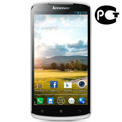 Смартфон Lenovo IdeaPhone S920 white