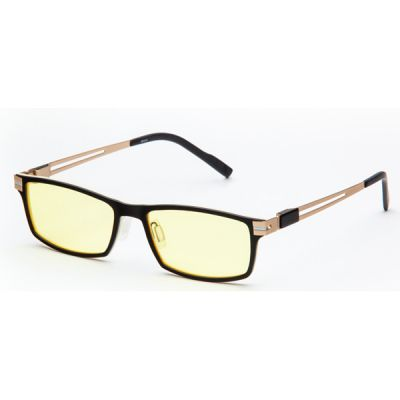 Очки SP Glasses AF070 titanium (черно-кремовый) AF070_BC