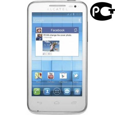 �������� Alcatel M-POP 5020D White