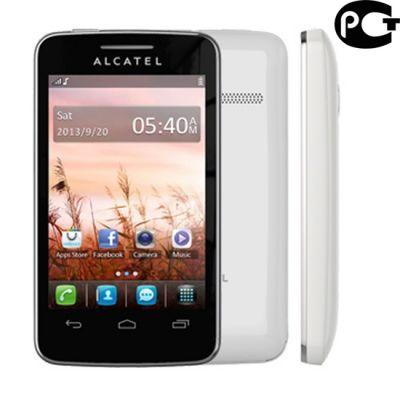 Телефон Alcatel 3041D White