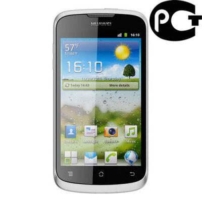 Смартфон Huawei U8815 Ascend G300 White/Silver