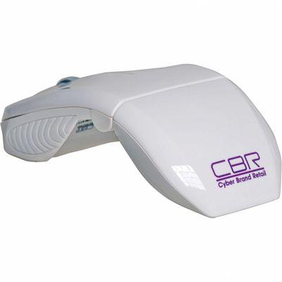 Мышь беспроводная CBR CM 611 White
