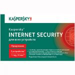 Kaspersky Internet Security 2014 Multi-Device Russian Edition. 2-Device 1 year Renewal Card (0+) KL1941ROBFR