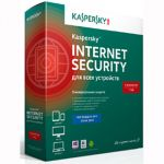 Антивирус Kaspersky Internet Security 2014 Multi-Device Russian Edition. 3-Device 1 year Base Box (0+) KL1941RBCFS