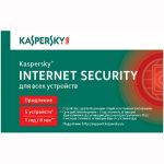 Kaspersky Internet Security 2014 Multi-Device Russian Edition. 5-Device 1 year Renewal Card (0+) KL1941ROEFR
