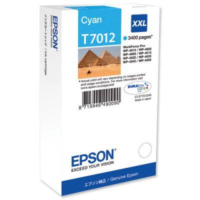 Картридж Epson Cyan/Голубой (C13T70124010)