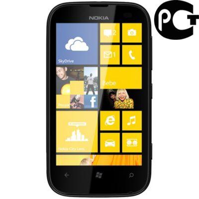 Смартфон Nokia Lumia 510 (красный)