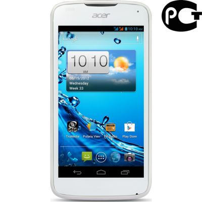 Смартфон Acer Liquid Gallant Duo E350 White