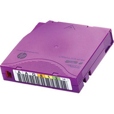 Картридж HP данных LTO-6 Ultrium 6,25 ТБ MP RW Non Custom Labeled, 20 шт C7976AN