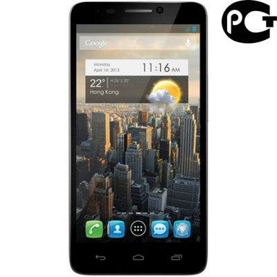 Смартфон Alcatel Idol 6030D Silver