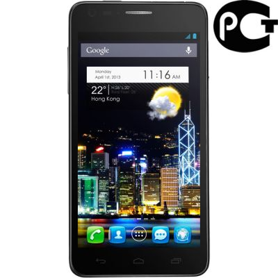 Смартфон Alcatel Idol Ultra 6033X Black