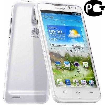 Смартфон Huawei Ascend D1 White (U9500)