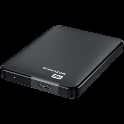 Внешний жесткий диск Western Digital HDD USB 3 500GB WDBUZG5000ABK-EESN