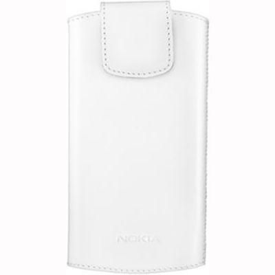 Чехол Nokia для мобильных телефонов белый (N9, Lumia 800) CP-556