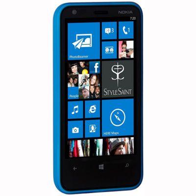 Nokia задняя крышка для телефона Lumia 620 Blue CC-3057