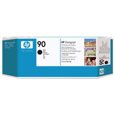 Расходный материал HP Чёрная печатающая головка HP 90 с устройством очистки C5054A