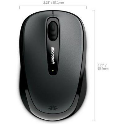 Мышь беспроводная Microsoft Wireless Mobile Mouse 3500 Black GMF-00292 MS