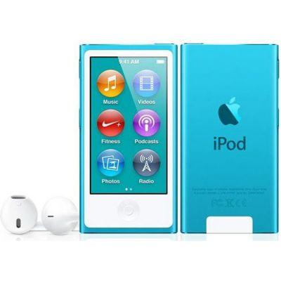 Аудиоплеер Apple iPod nano 7 16GB Blue MD477RU/A (MD477QB/A)