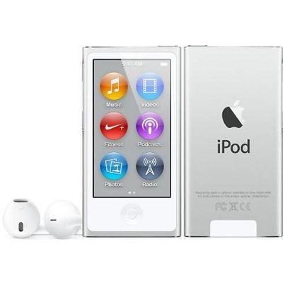 Аудиоплеер Apple iPod nano 7 16GB Silver MD480QB/A