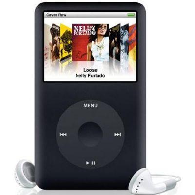 Аудиоплеер Apple iPod classic 160GB Black MC297QB/A