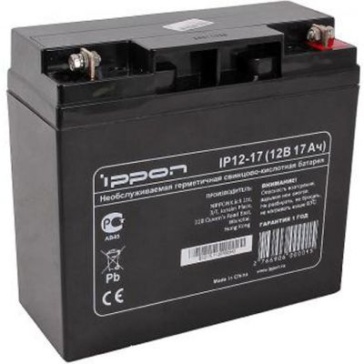 Аккумулятор Ippon IP12-17 12V/17Ah