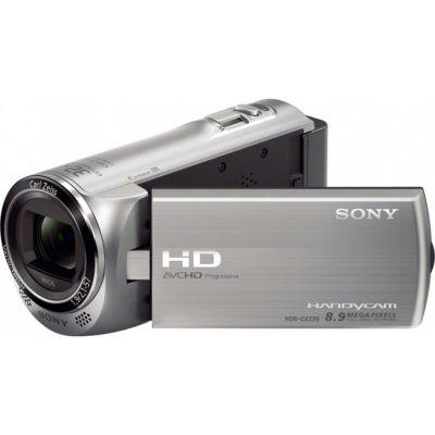 Видеокамера Sony HDR-CX220E Silver (HDRCX220ES.CEL)