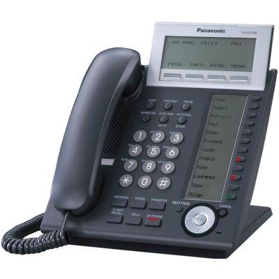 Телефон Panasonic IP KX-NT366RU-B Black