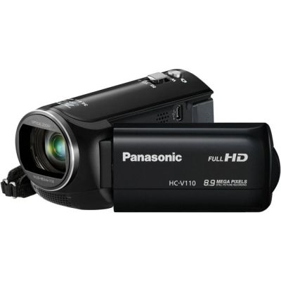 Видеокамера Panasonic HC-V110 Black HC-V110EE-K