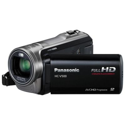 Видеокамера Panasonic HC-V500 Black HC-V500EE-K