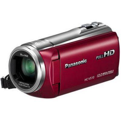 Видеокамера Panasonic HC-V510 Red HC-V510EE-R