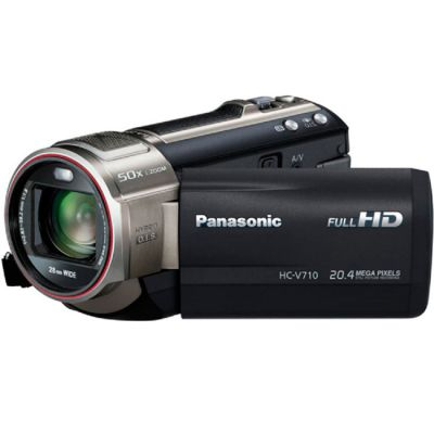 Видеокамера Panasonic HC-V710 Black HC-V710EE-K